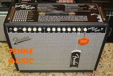 "FENDER SUPER-SONIC TWIN COMBO VALVOLARE 100/25 WATT 2x12"" + COVER + FOOTSWITCH"