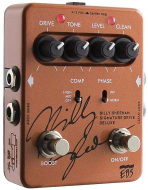 EBS Billy Sheehan Signature Deluxe Pre Overdrive EBS-BSD PER BASSO