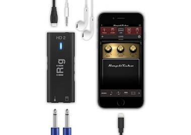 IK Multimedia iRig HD 2 INTERFACCIA AUDIO HD PER CHITARRA PER IPHONE, IPAD O MAC