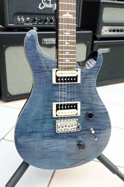 Paul Reed Smith PRS SE Custom 22  Birds TR3 Whale Blue