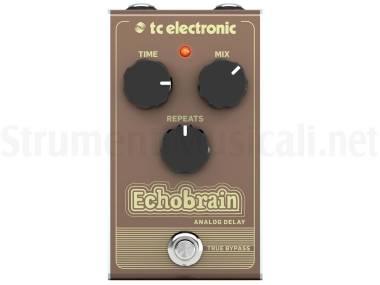 Tc Electronic Echobrain Analog Delay - Effetto Delay A Pedale Per Chitarra