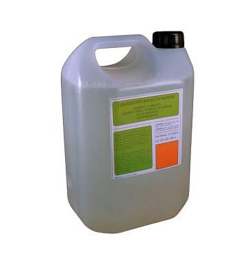 LIQUIDO PROFESSIONALE 5 litri  PER MACCHINE DELLE BOLLE
