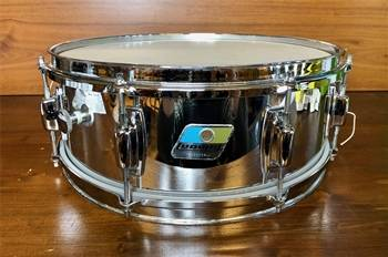 "LUDWIG CHROME OVER WOOD 14""X5"" - CV48-18B - RULLANTE IN LEGNO"
