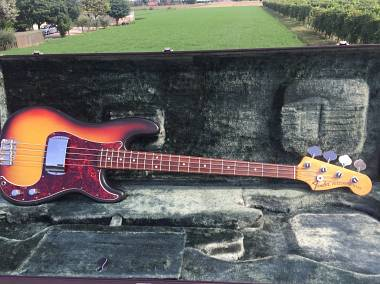 Fender precision 1971 sunburst originale NO REISSUE
