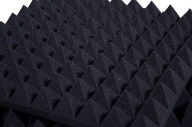 Pannello Fonoassorbente Piramidale 6cm D30 Ignifugo