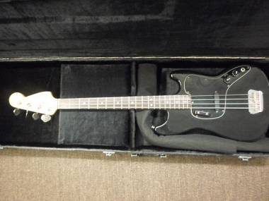 Fender Musicmaster Bass Black 1978 - Made in U.S.A. - Serial Number S718832