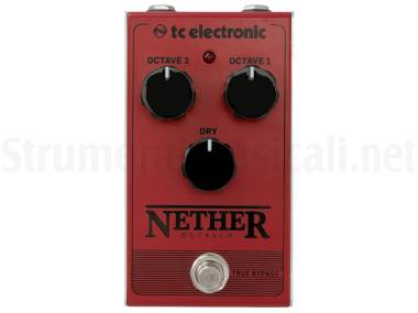 Tc Electronic Nether Octaver - Effetto Octaver A Pedale Per Chitarra