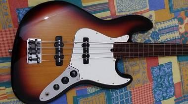 Fender JAZZ Bass American Standard Fretless Lined 1999
