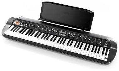 KORG SV1-73 BK Black - PIANOFORTE DIGITALE 73 TASTI PESATI NERO