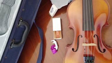 violino 4/4 con accessori per iniziare