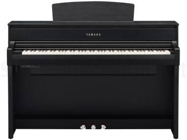 Yamaha Clavinova Clp675b Black - Pianoforte Digitale Nero
