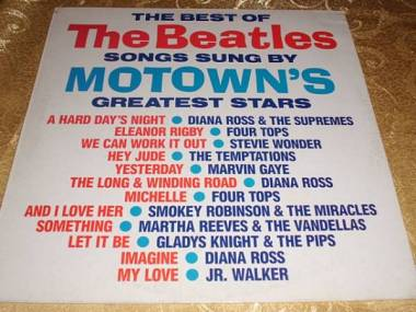 BEATLES THE BEST SONG SUNG BY MOTOWN'S LP RARO