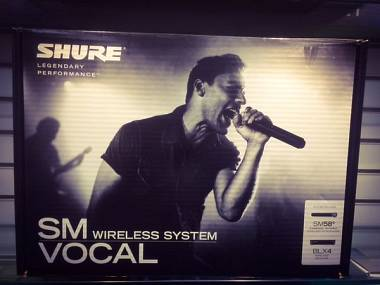 Shure SM 58 BLX24E/SM58-M17 Microfono Wireless