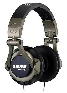 SHURE SRH 550DJ  CUFFIA DJ