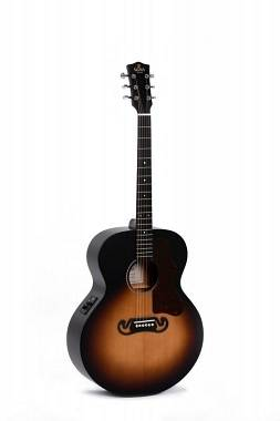 Sigma Guitars GJM-SGE+ SATIN SUNBURST ACUSTICA GRAND JUMBO EL.