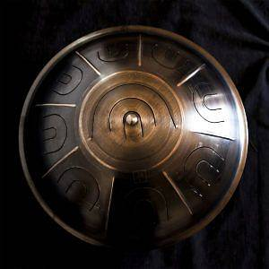 """Handpan tamburo armonico rammerdrum 18"""" 9 note"""