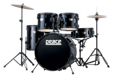 PEACE DEAMON DP-101 CELEBRITY BATTERIA ACUSTICA NERA DP101