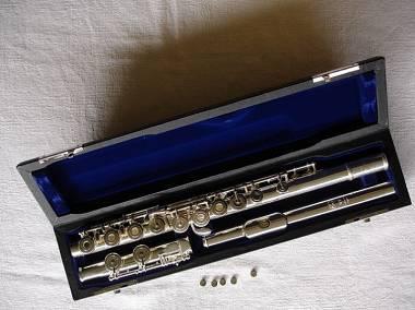 Flauto Tomasi - EBO TFL 09LGO  TESTATA IN ARGENTO - POZZETTO ORO