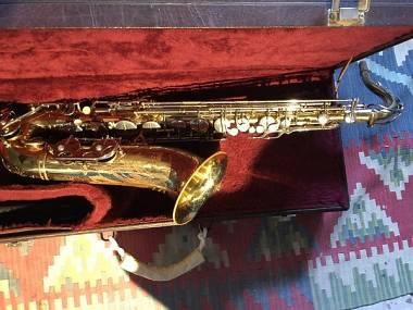 Sax tenore si bemolle Bb Loudwes con chiave fa diesis bello