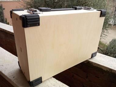Eurorack case per moduli 6u powerd portable