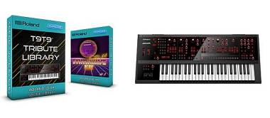 SCL120 - ( Bundle ) T9t9 Tribute Library + Synthwave Kit Vol.1 - Roland Jd-Xa