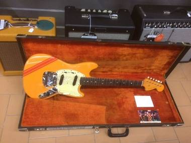 Fender Mustang Competition Orange anno 1968 ECCELLENTI CONDIZIONI - RARA!