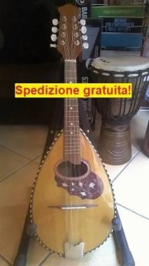 MANDOLINO NAPOLETANO MODELLO 4 CEDRO