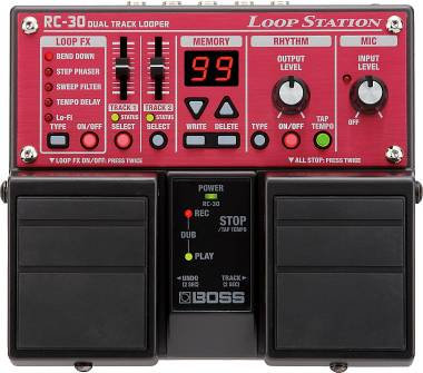 BOSS RC-30 LOOPER- LOOP STATION A DUE TRACCE