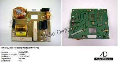 Audio Definition P.A. filtri/crossover