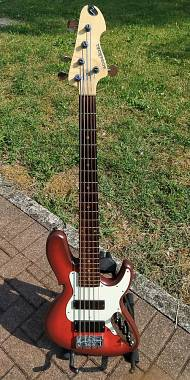 Wood & Tronics Ej 5 (Jazz Bass Style)