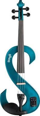 Stagg EVN 4/4 MBL  Violino Elettrico Completo 4/4 Metallic Blue
