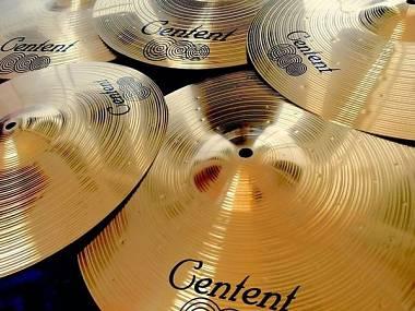 """Centent Cymbals Set di Piatti Alloy, hihat 14"""", crash 16"""", crash 18"""", ride 20"""""""