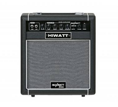 Hiwatt MW-B15-8-C MAXWATT Combo per Basso 15 Watt RMS,1x8 + Cuffia In