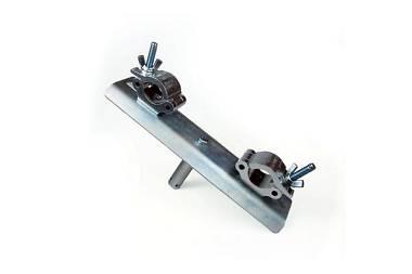 Alutek supporto tralicci serie 29 e 40 con codolo 28/35 mm.