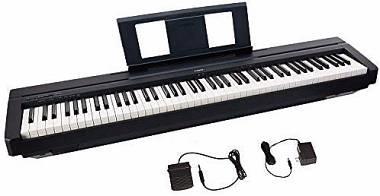 YAMAHA P 45 PIANOFORTE DIGITALE 88 TASTI PESATI
