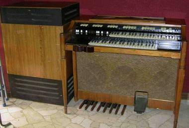 Organo Hammond M111 + Leslie Mod 760