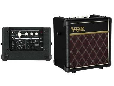 Vox Mini5 Rhythm CL Classic - AMPLIFICATORE A BATTERIE PER CHITARRA 5W-CON RITMI