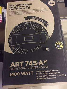 RCF Art 745A MK4  ancora imballate vendo per mancato Progetto Band