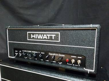 Hiwatt custom 50 DR504 clone di valvolare