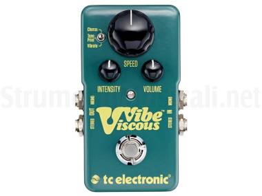 Tc Electronic Viscous Vibe - Effetto Phaser A Pedale Per Chitarra