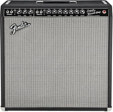 FENDER 65 SUPER REVERB VINTAGE REISSUE + FOOTSWITCH + COVER