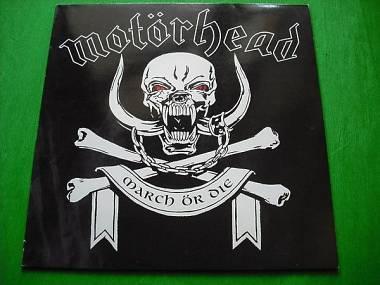 Motorhead March Ör Die vinile lp