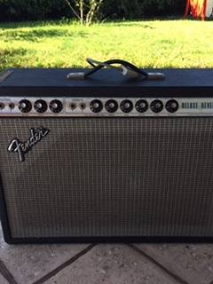 Fender Deluxe Reverb 79' (vintage) Handwired, P to P