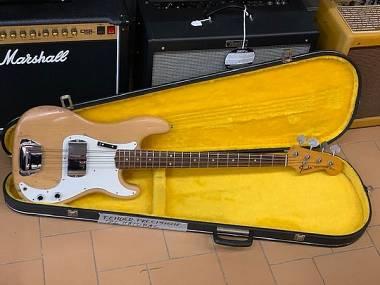 Fender Precision Bass Refin Natural anno 1974