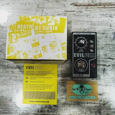 Death by Audio Evil Fuzz Limited Edition - IN PRONTA CONSEGNA!