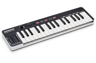 Samson Graphite M32 - Mini MIDI Controller USB - con Aftertouch