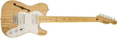 SQUIER BY FENDER VINTAGE MODIFIED '72 TELECASTER THINLINE CHITARRA ELETTRICA MAPLE FINGERBOARD NATUR