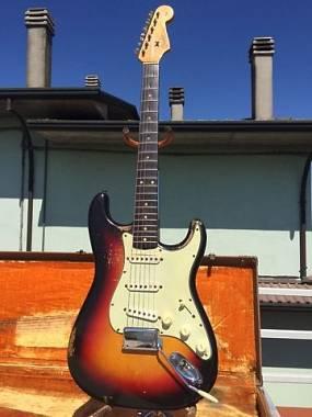 Stratocaster 1962 Sunburst 100% original (no reissue)