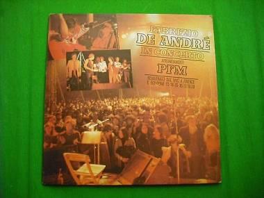 De Andre con la PFM vinile lp + booklet