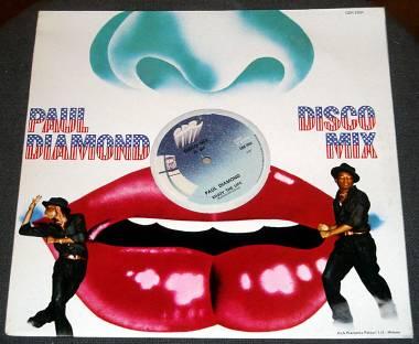 DISCO LP PAUL DIAMOND DISCO MIX